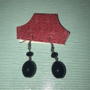 Charming Charlie Black Dangle Earrings